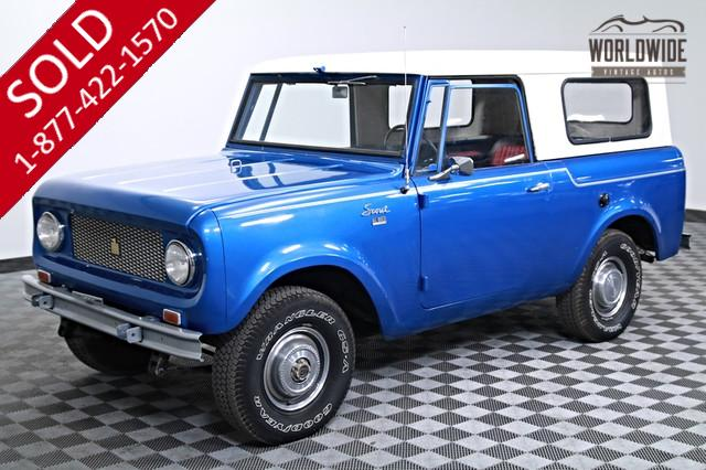 1965 International Scout 4x4 for Sale