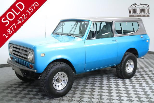 1972 International Scout V8 for Sale