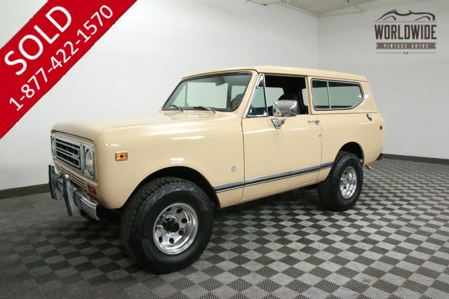 1979 International Scout V8 for Sale