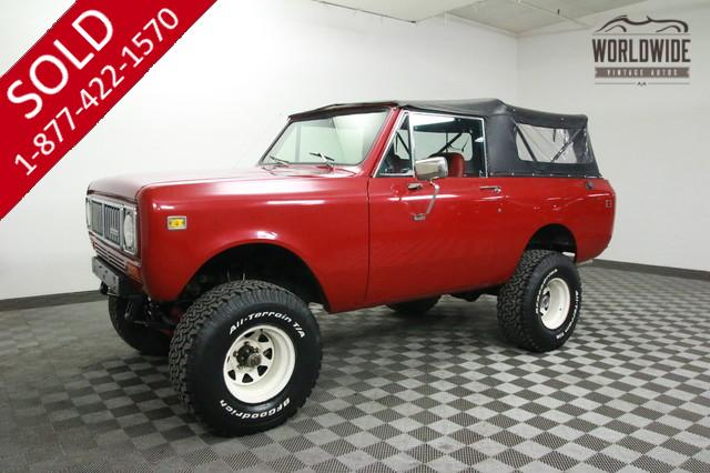 1977 International Scout 360 for Sale