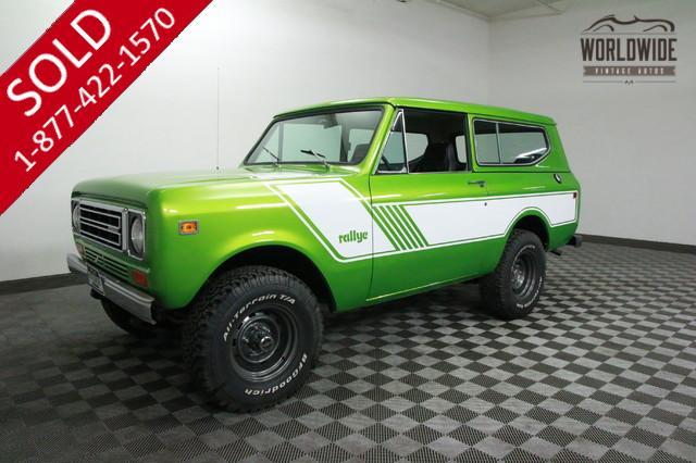 1978 International Scout Rallye for Sale