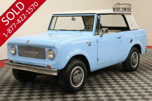 1965 INTERNATIONAL SCOUT RARE SPORT TOP 4X4 COLLECTOR