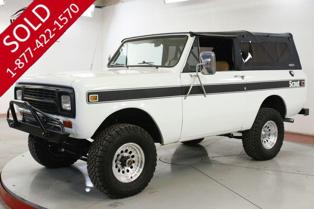 1980 INTERNATIONAL  SCOUT SOFT TOP 304 V8 MANUAL 4X4
