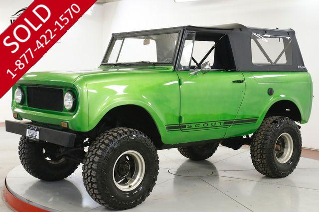 1967 INTERNATIONAL  SCOUT V8 RARE LIFT HARD TOP NEW 33