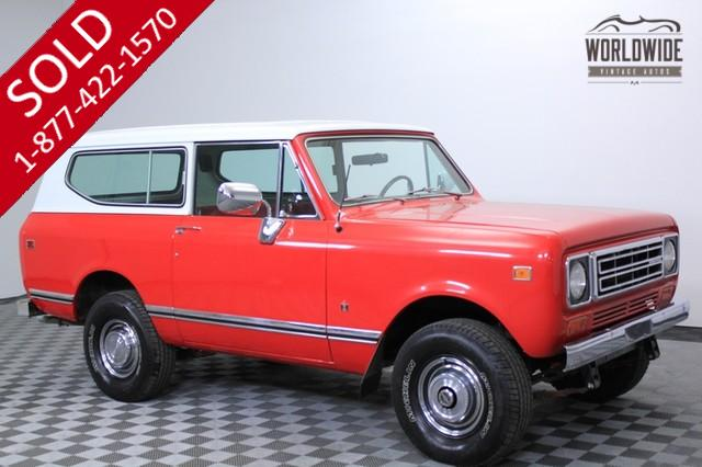 1977 Scout for Sale