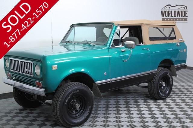 1975 International Scout Restored for Sale