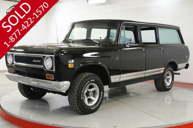 1971 INTERNATIONAL TRAVELALL EXTREMELY RARE 4X4 304 V8 AUTO PS PB AC