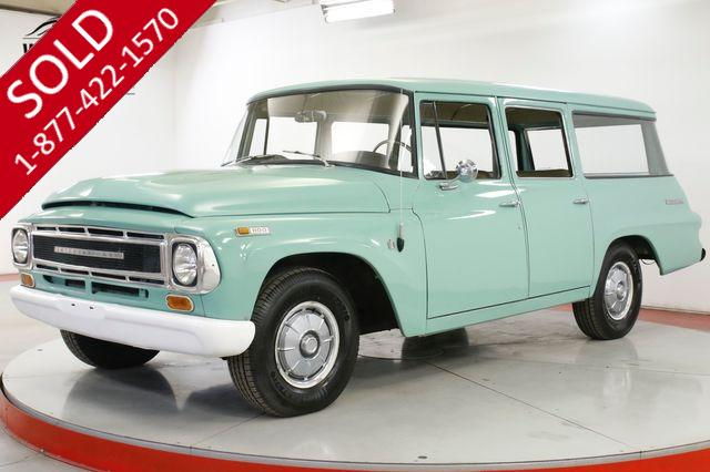 1968 INTERNATIONAL  TRAVELALL 4SPD WITH OVERDRIVE UNMOLESTED COLLECTOR