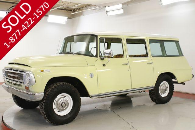 1968 INTERNATIONAL  TRAVELALL FUEL INJECTED PB RARE RESTORED EARLY MODEL
