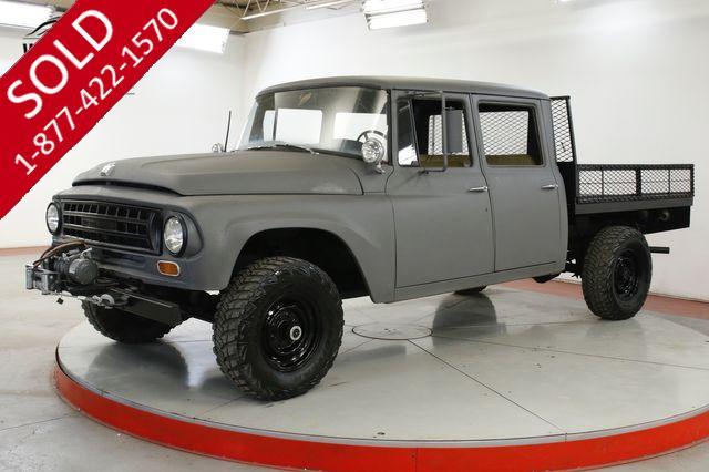 1968 INTERNATIONAL TRAVELETTE 1200 CREW CAB ULTRA RARE REBUILT 392 V8 4x4
