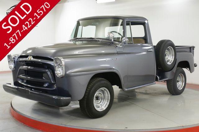 1958 INTERNATIONAL  TRUCK RESTORED $30K BUILD AC AUTO HOT ROD SHORTBED