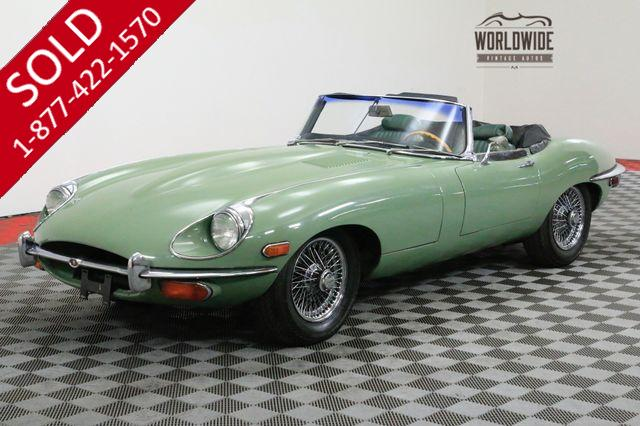 1970 JAGUAR E TYPE CONVERTIBLE NUMBERS MATCHING JAGUAR