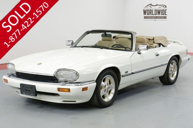 1994 Jaguar XJS  CONVERTIBLE 43,500 ORIGINAL MILE BEAUTIFUL