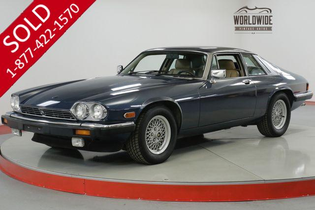 1989 JAGUAR  XJS LOW MILES V12 XJS SERVICED. COLLECTOR GRADE (VIP)