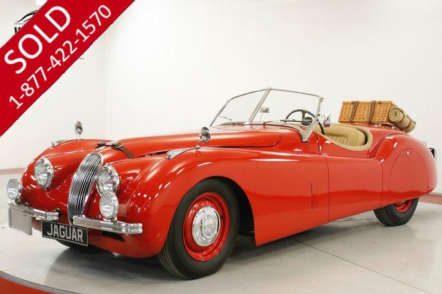 1952 JAGUAR  XK-120 OTS ROADSTER CONVERTIBLE TIME CAPSULE