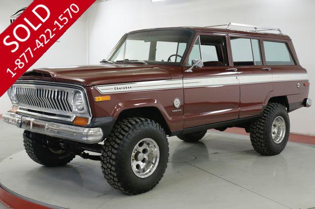 1978 JEEP  CHEROKEE CHIEF S 4x4 V8 LIFT PS PB AUTO WAGONEER