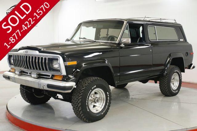 1982 JEEP CHEROKEE RARE 2 DOOR 360 V8 AUTO AC