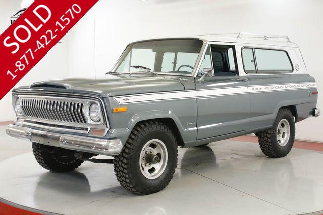 1975 JEEP  CHEROKEE 4X4 402 V8 PS PB RARE 2D COLLECTOR WAGONEER