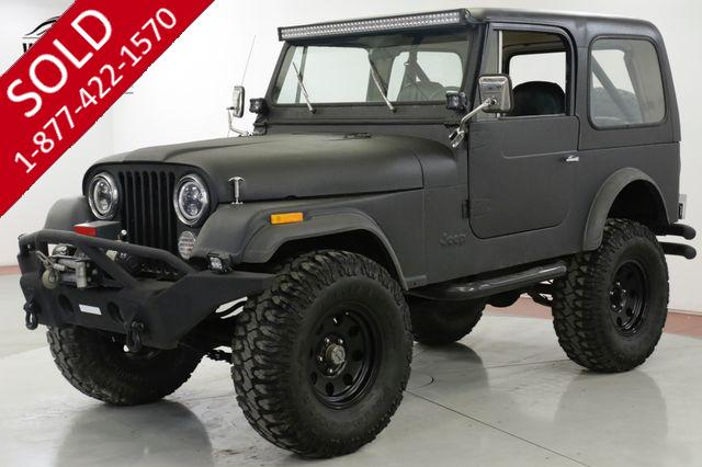 1979 JEEP  CJ 7  FUEL INJECTED 258 REMOVABLE TOP AC