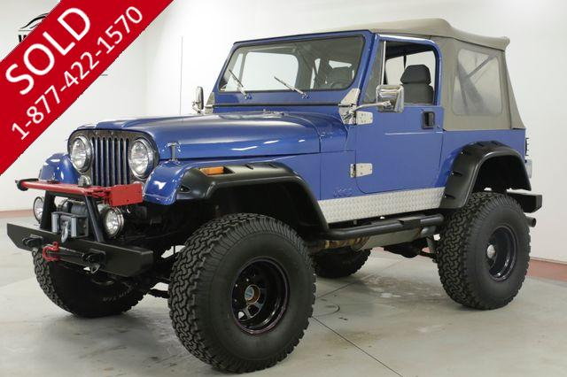 1983 JEEP CJ 7 304 V8 4SPD MANUAL LIFTED 35 INCH TIRES PS