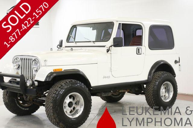 1984 JEEP CJ-7 FUEL INJECTED 350 V8 AUTO 33 INCH TIRES (VIP)