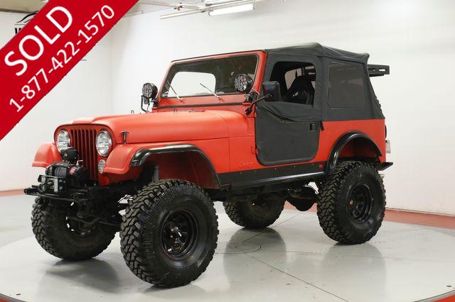 1983 JEEP CJ-7 4.2L 5-SPEED PS PB 35 INCH TIRES ARB LOCKER