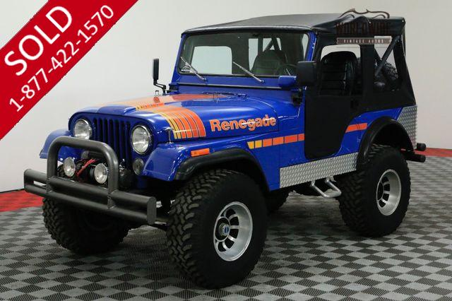 1974 JEEP CJ5 RENEGADE RESTORED V8 HEAVILY OPTIONED