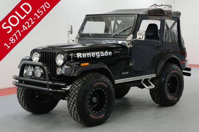 1977 JEEP  CJ5 RESTORED LIFTED V8 4X4 MANUAL