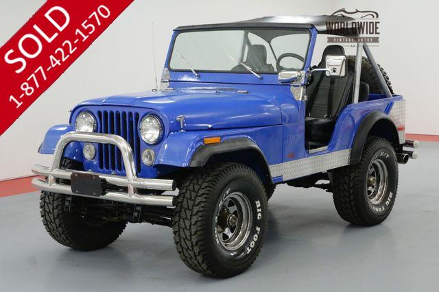 1973 JEEP CJ5 RARE AND RESTORED 401 V8 LOTS OF NEW PARTS
