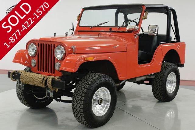 1972 JEEP CJ5  HIGH DOLLAR BUILD 4x4 CONVERTIBLE MUST SEE