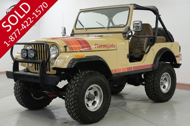 1976 JEEP  CJ5  TEXAS TRUCK LIFT V8 COVERTIBLE 4X4 MUST SEE