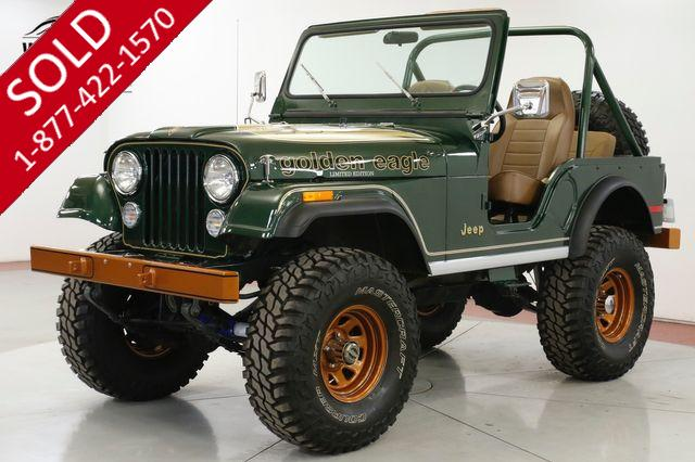1977 JEEP CJ5 RESTORED GOLDEN EAGLE 4X4 V8 PS PB COLLECTOR