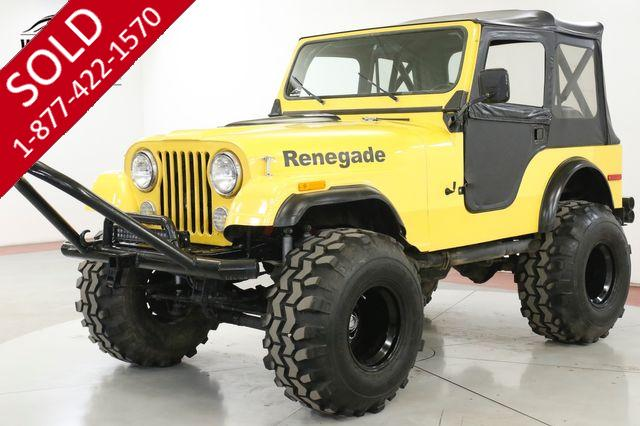 1979 JEEP  CJ5 SUPERCHARGED 383 V8 525 HP 4X4 DISC PS PB