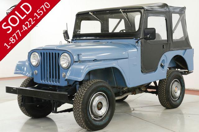 1955 JEEP CJ5 RESTORED 4X4 CONVERTIBLE TOP BUICK V6 4SPD