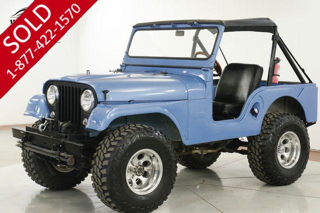 1960 JEEP CJ5 CJ-5 LOW MILES LIFT CUSTOM WHEELS MUST SEE!
