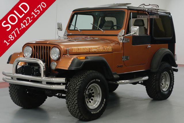 1981 JEEP   CJ7  8000 MILES ON ENGINE