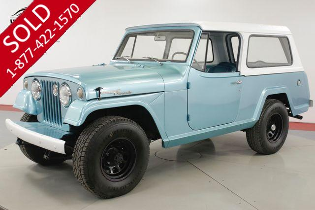 1968 JEEP  COMMANDO  FRAME OFF RESTORED REMOVABLE TOP 4X4