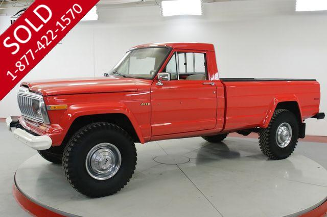 1976 JEEP  GLADIATOR  4X4 401V8 AUTOMATIC RESTORED A/C MUST SEE