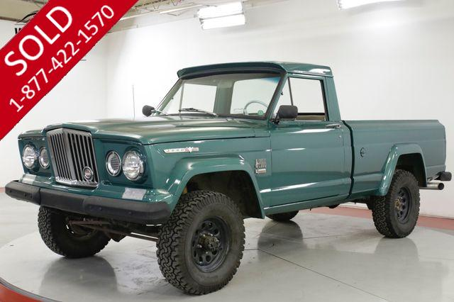 1968 JEEP GLADIATOR  NEW PAINT 4X4 AMC 327 V8 4-SPEED MUST SEE