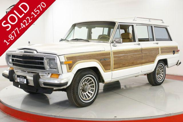 1988 JEEP GRAND WAGONEER 4X4 93K ORIGINAL MILES V8 PS PB AC COLLECTOR