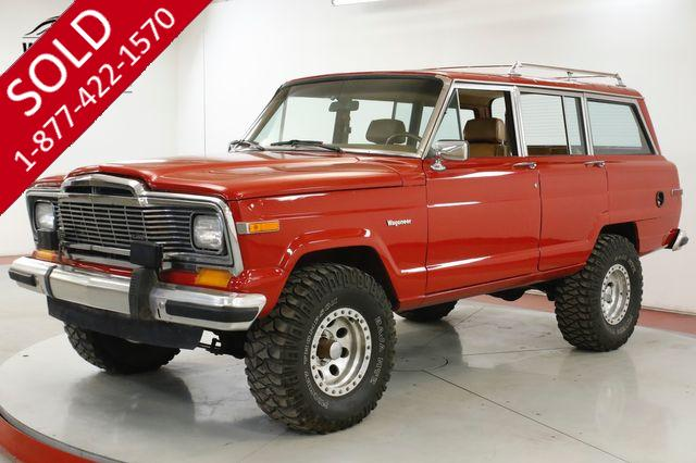 1985 JEEP  GRAND WAGONEER  360 V8 AUTO 4X4 FACTORY LUGGAGE RACK 88K MI