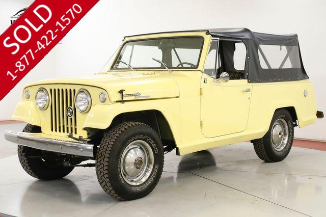 1968 JEEP JEEPSTER NEW TOP NEW PAINT COLLECTOR GRADE MUST SEE