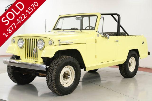 1967 JEEP  JEEPSTER COMMANDO V6 4X4 PB AUTO CONVERTIBLE