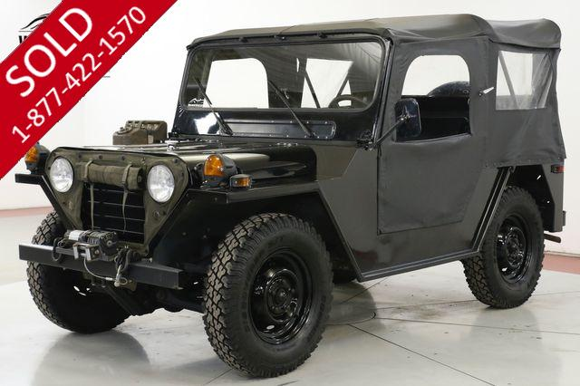 1973 JEEP MUTT M151 RESTORED RARE COLLECTOR WINCH WILLYS