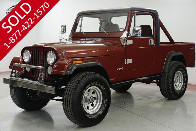 1985 JEEP SCRAMLER  CJ8. FRAME OFF RESTORED JASPER CRATE CJ7 CJ5