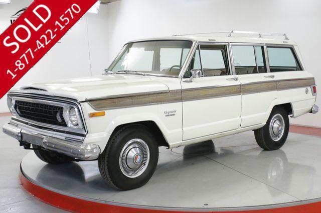 1976 JEEP  WAGONEER ORIGINAL TIME CAPSULE 401 V8 AC DRY