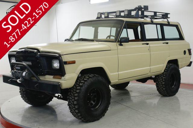 1983 JEEP WAGONEER  V8 AUTO ROOF RACK 9K LB WINCH PS PB
