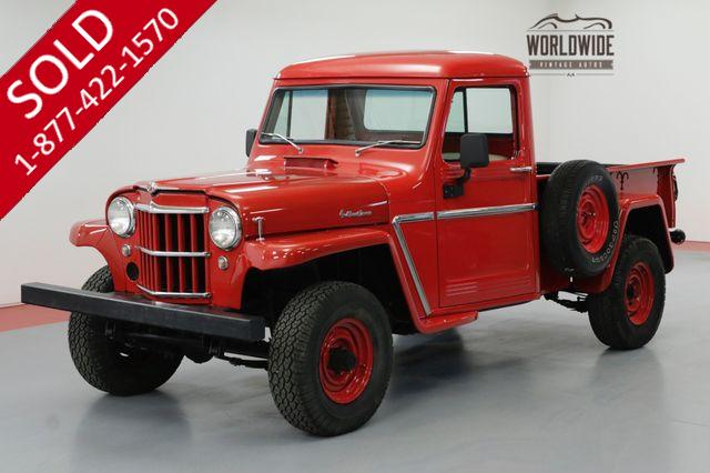 1964 JEEP WILLYS EXTENSIVE NUT AND BOLT FRAME OFF RESTORATION