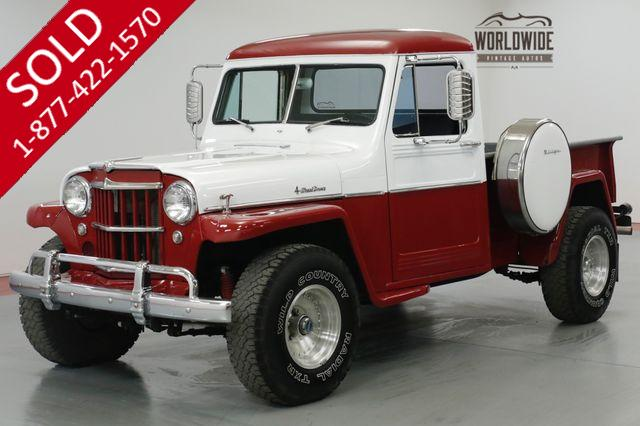 1958 JEEP  WILLYS  350V8. TH400 4X4. MUST SEE
