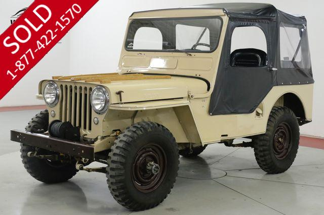 1951 JEEP WILLYS  NUMBERS MATCHING ORIGINAL MOTOR